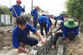 Đoàn viên, Thanh niên Hà Tĩnh phát huy vai trò xung kích trong xây dựng nông thôn mới